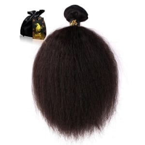 Kinky Straight Virgin Hair Weave Fro Out™ Kinky Straight Machine Weft