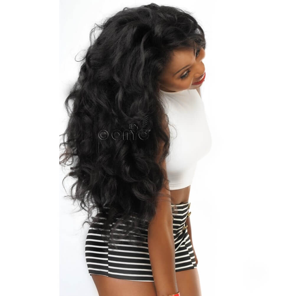 Fro Out™ Kinky Straight Machine Weft Curled Thelma