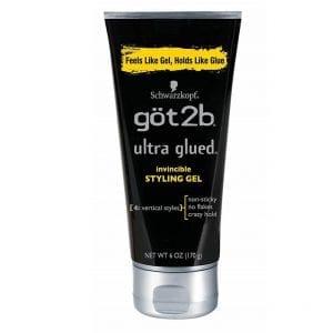 Got2b Ultra Glued Invincible Styling Hair Gel 6 Ounces