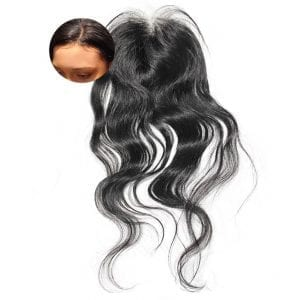Body Wave Closure Frontal Piece Body Wavy ONYC Beach Wave 2A Closure