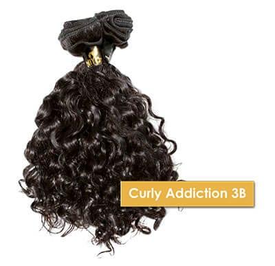 ONYC Curly Addiction 3B Machine Weft