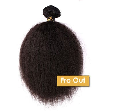 ONYC Fro Out Kinky Straight Machine Weft