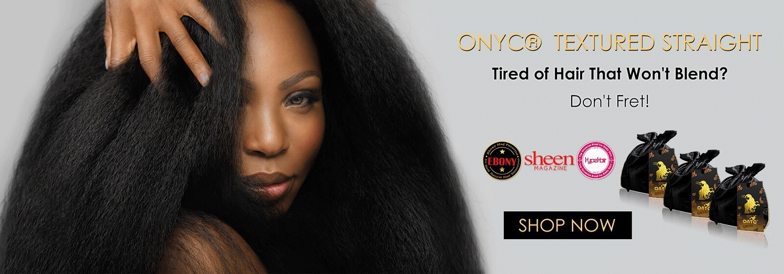 ONYC Hair Textured Straight Look. Virgin Hair Extensions | UK Best Hair Weave Extensions Company