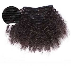 Kinky Curly Clip In Extensions Best Kinky Curly Clip Ins Hair Extensions ONYC Hair Kinky 3B 3C™ Clipin Hair