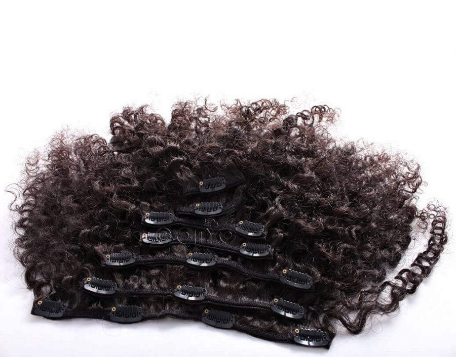 Kinky Curly Clip In Extensions Best Kinky Curly Clip Ins Hair Extensions ONYC Hair Kinky 3B 3C™ Clipin Hair Extensions