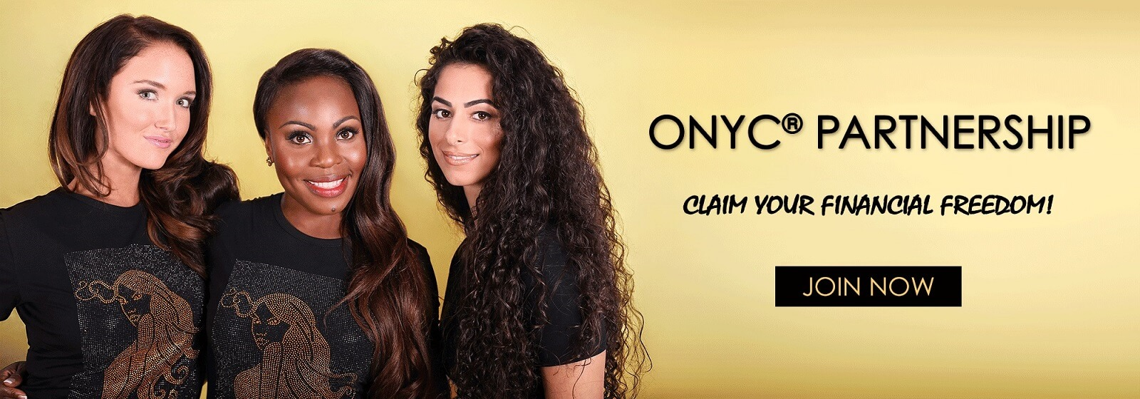 ONYC Hair Partnership Banner. Virgin Hair Extensions | UK Best Hair Weave Extensions Company