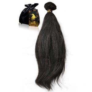 Relaxed Hair Extensions Natural Relaxed-Perm African American Texture ONYC Relaxed Perm Machine Weft Feature