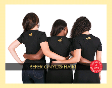 REFER A FRIEND & SAVE on Virgin Hair