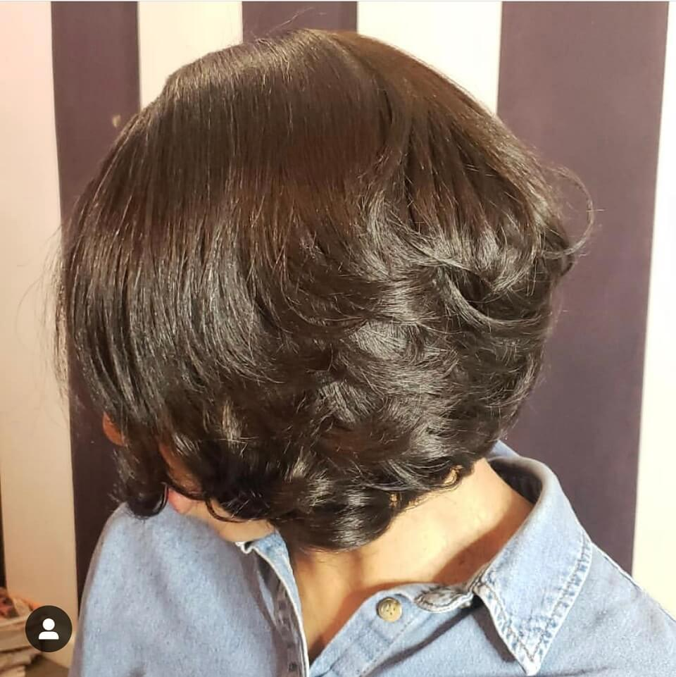 Relaxed Perm Styled By @ayannagivegoodhair