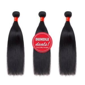 Remy Silky Straight Bundle Deals with Closure Sassy Remy™