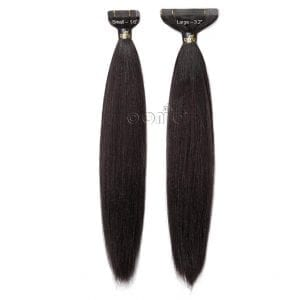 Straight Tape Hair Extensions from ONYC Hair is designed to give you the most natural Silky and Sleek Relaxed Straight Texture.