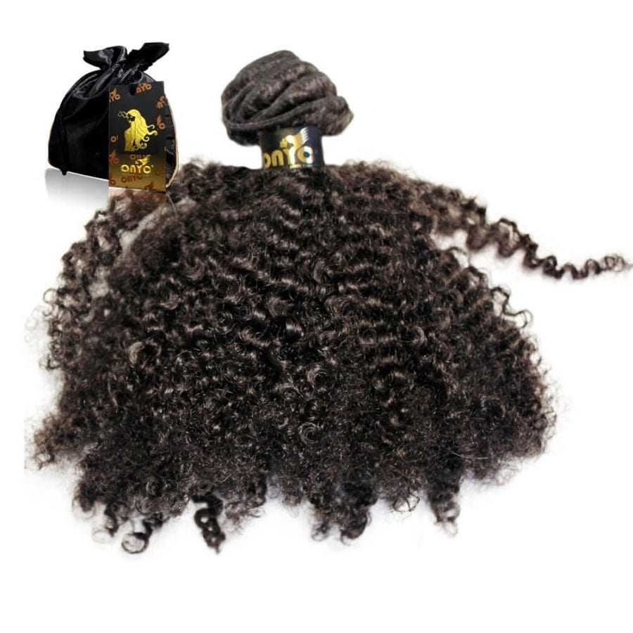 Afro Tight Kinky Hair Weave Tight Kinky 3C 4A™ Curl Machine Weft