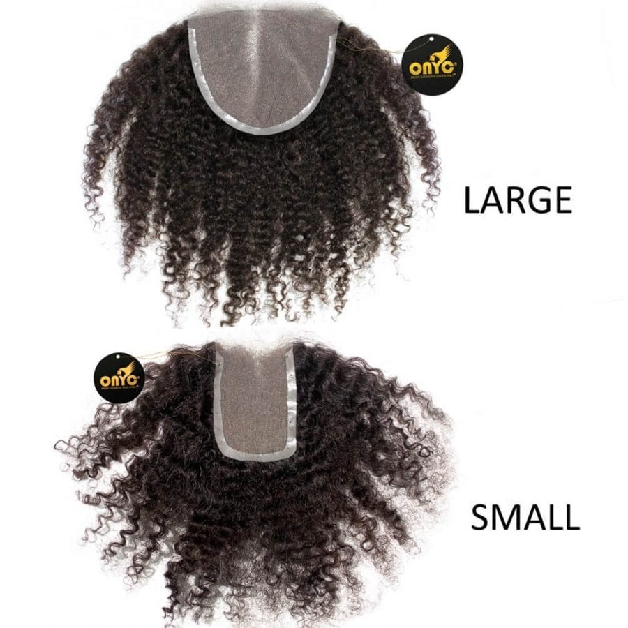 afro kinky curly closure Tight Kinky 3c4a Frontal Closure Small And Large
