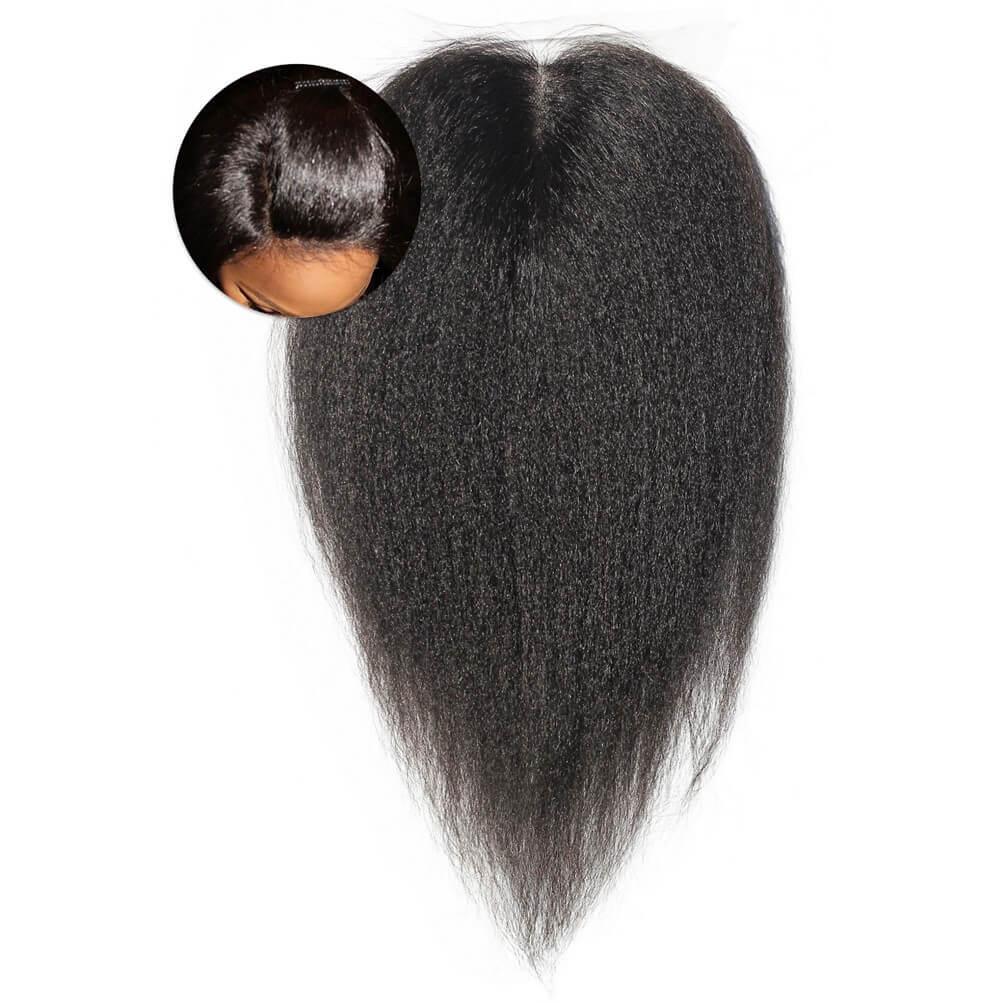 Kinky Straight Closures Weave ONYC Hair Extensions Fro Out Kinky Straight Virgin Hair Closure Onyc