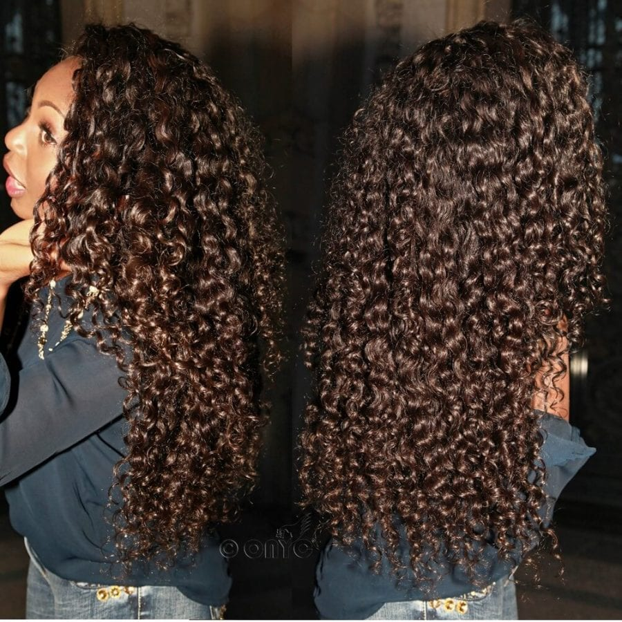 Onyc Beauty Thelma Okoro In Curly Addiction 3b 24 Inches Natural Black