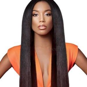Onyc Light Relaxed Perm Hair Extensions medium length weave hairstyles Black Hair Weaves